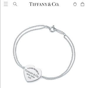 Return to Tiffany- Heart Tag Bracelet